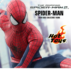 HOT TOYS THE AMAZING SPIDER-MAN 2 1/6 SCALE FIGURE