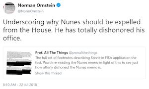 Norman Ornstein tweet