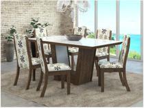 Mesa de Jantar 6 Cadeiras Retangular