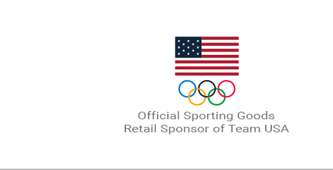 Official Sporting Goods Retail Sponsor of Team USA