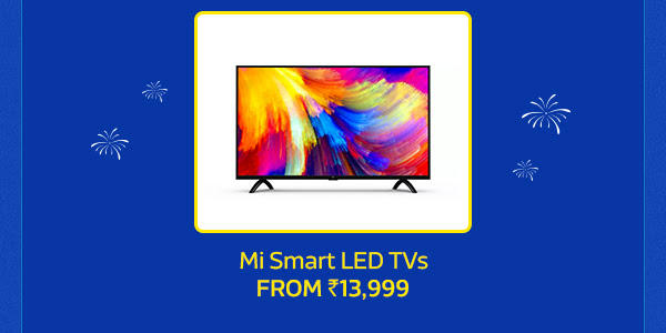 Mi TVs from Rs.13,999