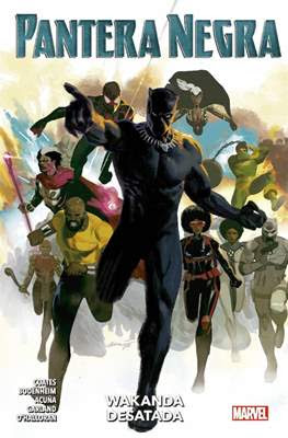 Pantera Negra (2019-2021) 100% Marvel (Rústica 136-144 pp) #4