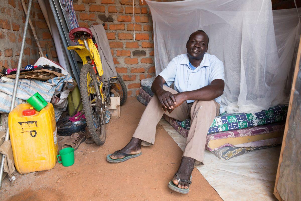 IMB photo of Sudanese refugee