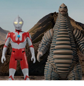 Ultraman 5 Points Ultraman and Red King Box Set