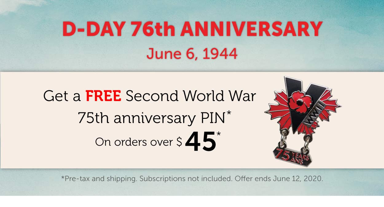 D-Day 76th Anniversary | Get a FREE Pin