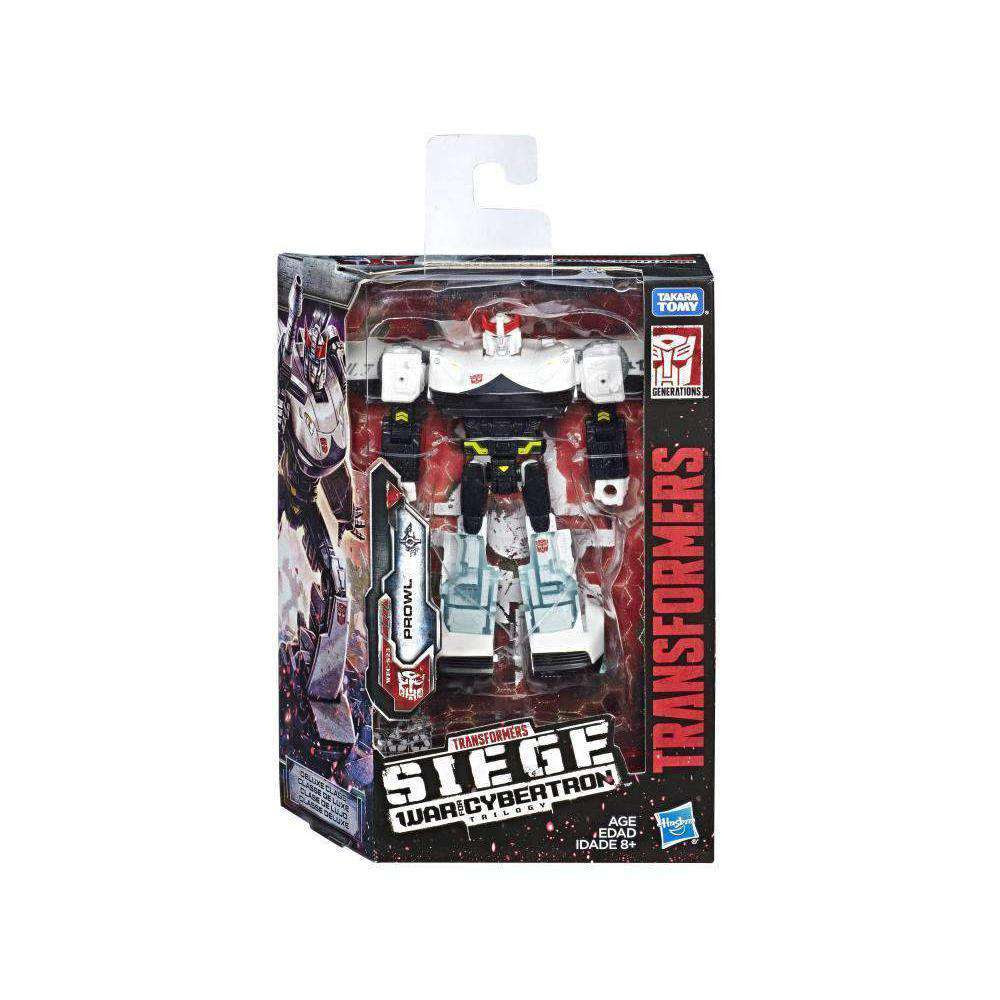 Image of Transformers War for Cybertron: Siege Deluxe Wave 2 - Prowl