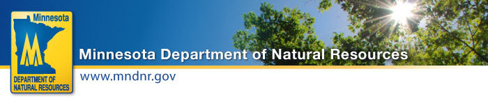 Minnesota Department of Natural Resources header