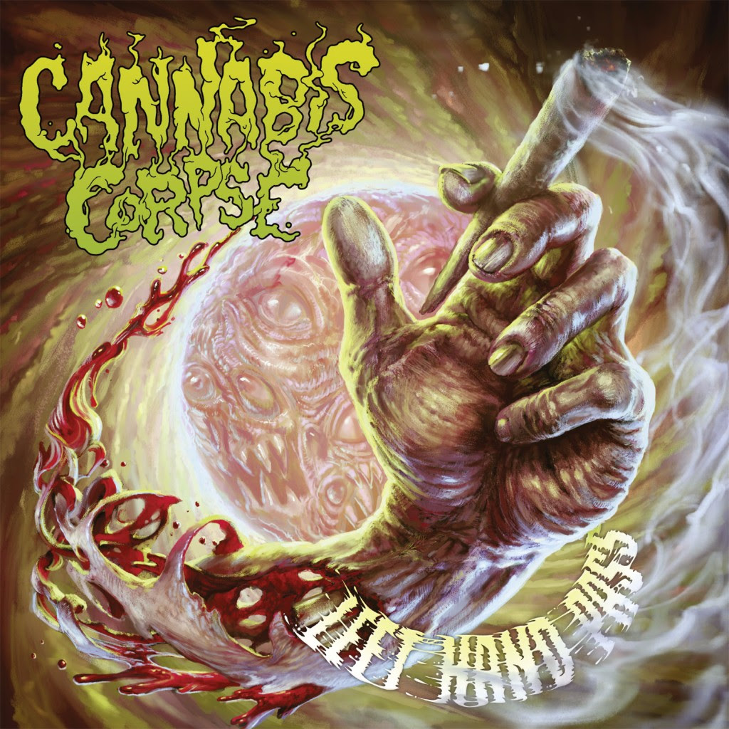 CANNABIS CORPSE album cover