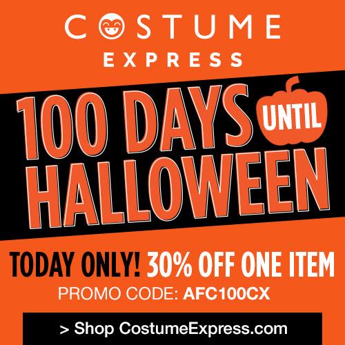 100 Days Till Halloween - 30%.