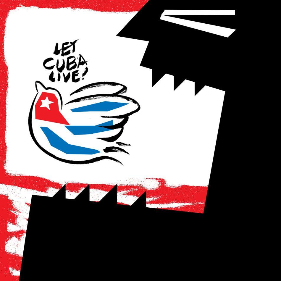 Uttam Ghosh (India), Let Cuba Live, 2021.