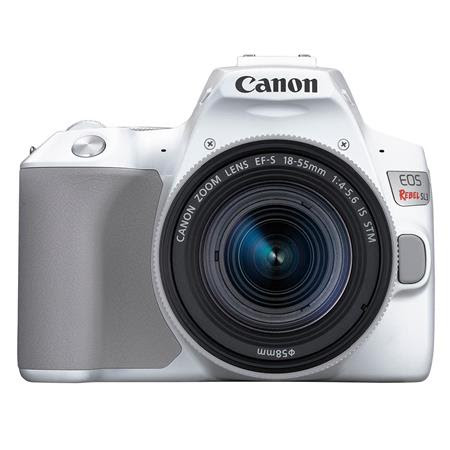 EOS Rebel SL3 DSLR Camera with EF-S 18-55mm f/4-5.6 IS STM Lens - White