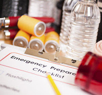 Emergency checklist and supplies