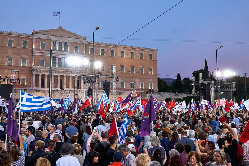 Syntagma Square on May 24 2019