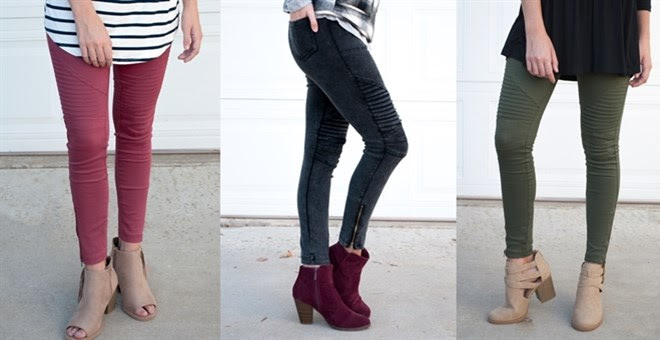 Moto Jegging Blowout!