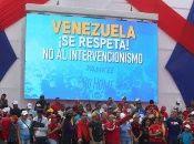 Llamaron a la comunidad internacional a la no intervención en Venezuela.
