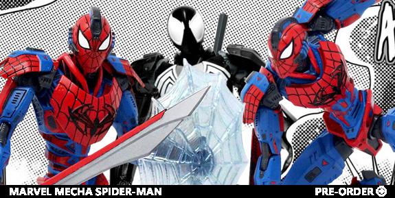 Marvel Mecha Spider-Man Figure