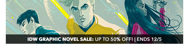 IDW Graphic Novel Sale: up to 50% off! | Ends 12/5