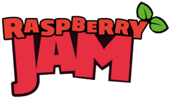 Raspberry Jam event logo from the Raspberry Pi Foundation