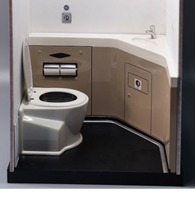 Motor Car Toilet 1/6 Scale Accessory