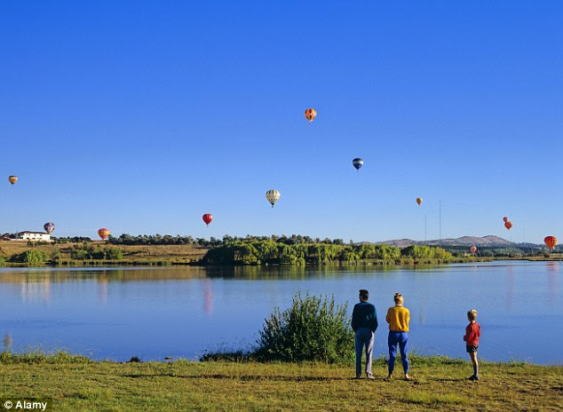 Lake Burley Griffin was named in honour of Water Burley Griffin, the Chicago-born architect which designed the capital city from scratch