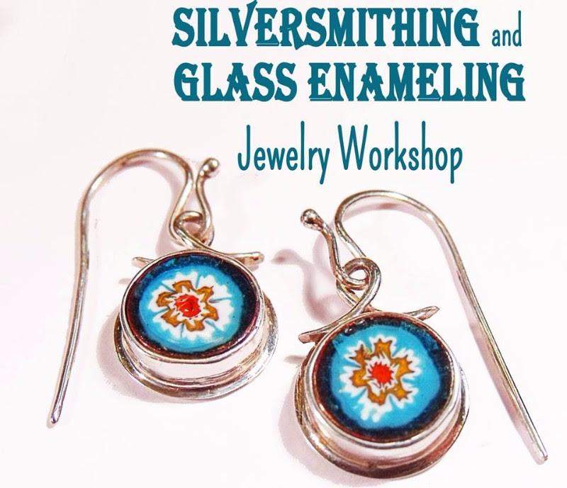 Workshop: Silversmithing & Glass Enamel Jewelry @ Mabee Farm Historic Site