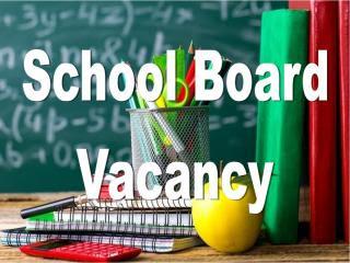 School Board Vacancy graphic