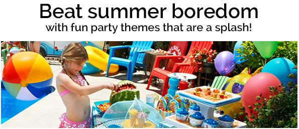 Summer party themes