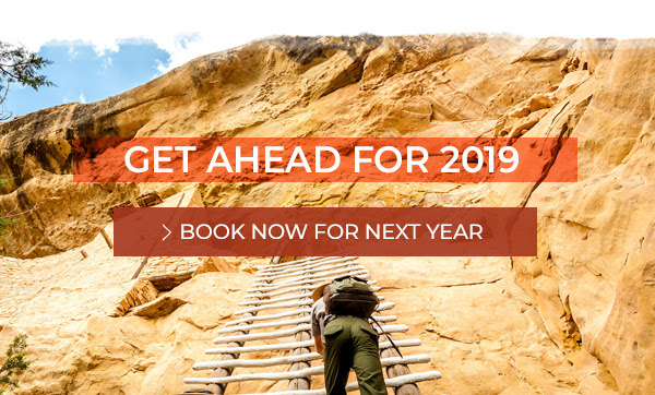 Get Ahead for 2019 - Book Now for Next Year