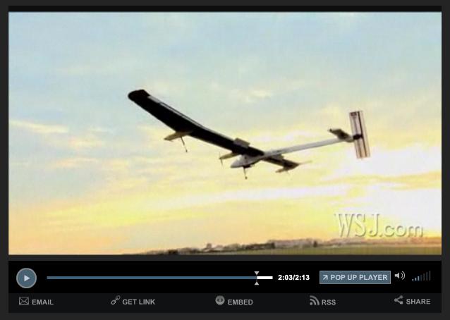 WSJ_Solar Panel Plane