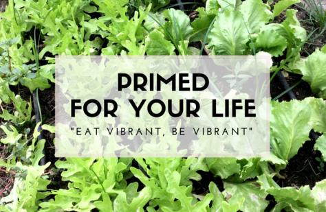 Eat vibrant Be vibrant