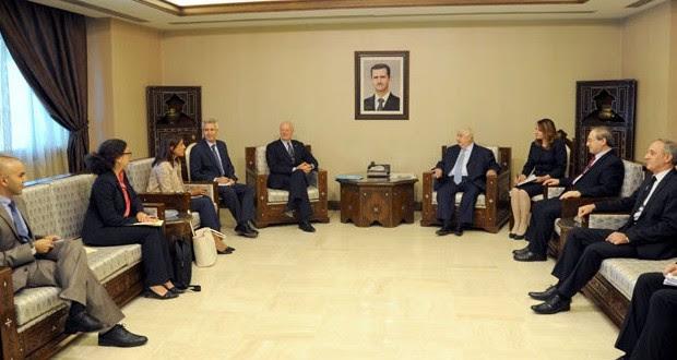 """SIRIA: """"La lucha contra el terrorismo, prioridad principal para Siria"""""""