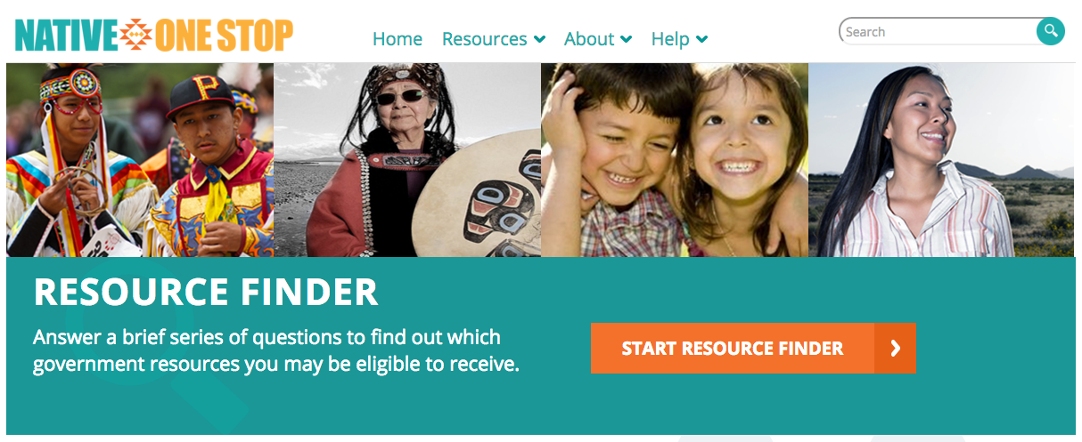 Native One Stop Resource Center: http://www.nativeonestop.gov/resources/resource-finder