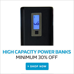 Power Banks | Minimum 30% Off