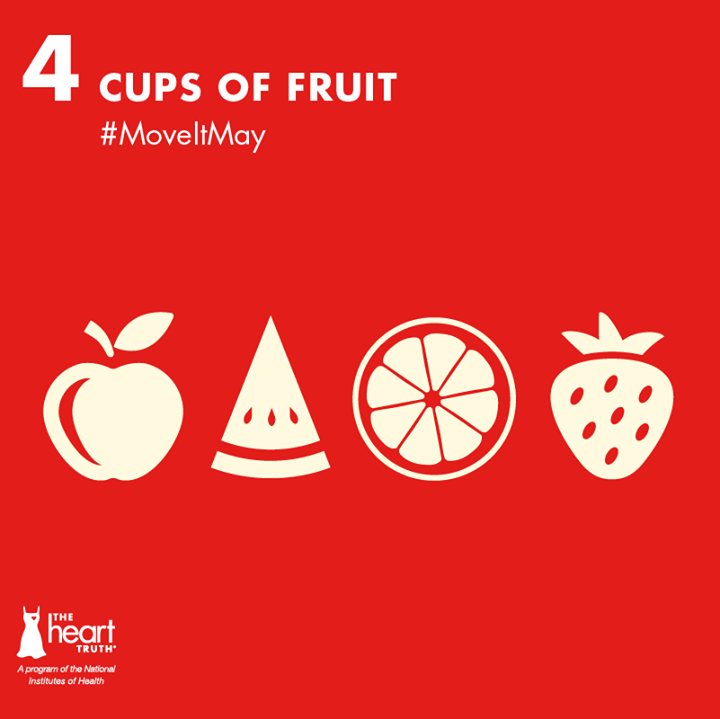 Move In May: 4 Cups of Fruit a Day