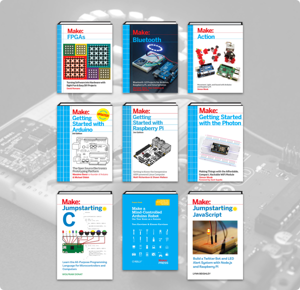 Humble Book Bundle: Programmable Boards by Make: