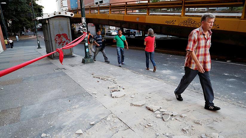Así vivió Venezuela el fuerte sismo (VIDEOS)