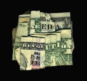 hidden message money