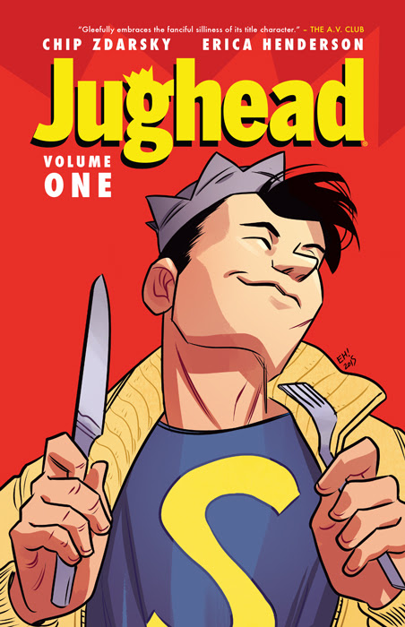 Jughead Vol. 1 Cover by Erica Henderson