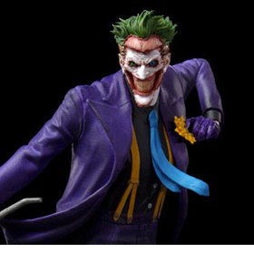 DC Comics The Joker 1/10 Deluxe Art Scale Statue