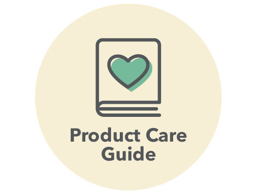 View our product care guide.