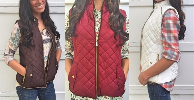 Quilted Vest + More!