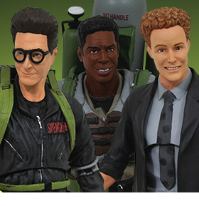GHOSTBUSTERS SELECT SLIM PACKAGING