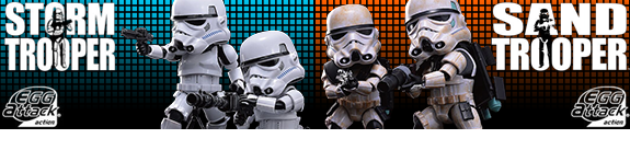 NEW STAR WARS EGG ATTACK FIGURES