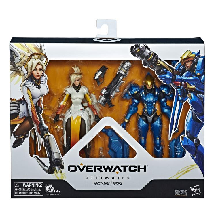 Image of Overwatch Ultimates Mercy and Pharah Two Packs Action Figures