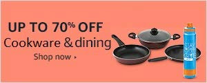 Up to 70% of on Cookware and dining