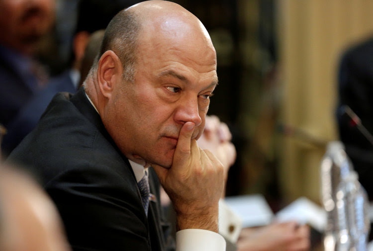 Gary Cohn takes part in a strategic and policy CEO discussion with Trump. (Reuters/Joshua Roberts)