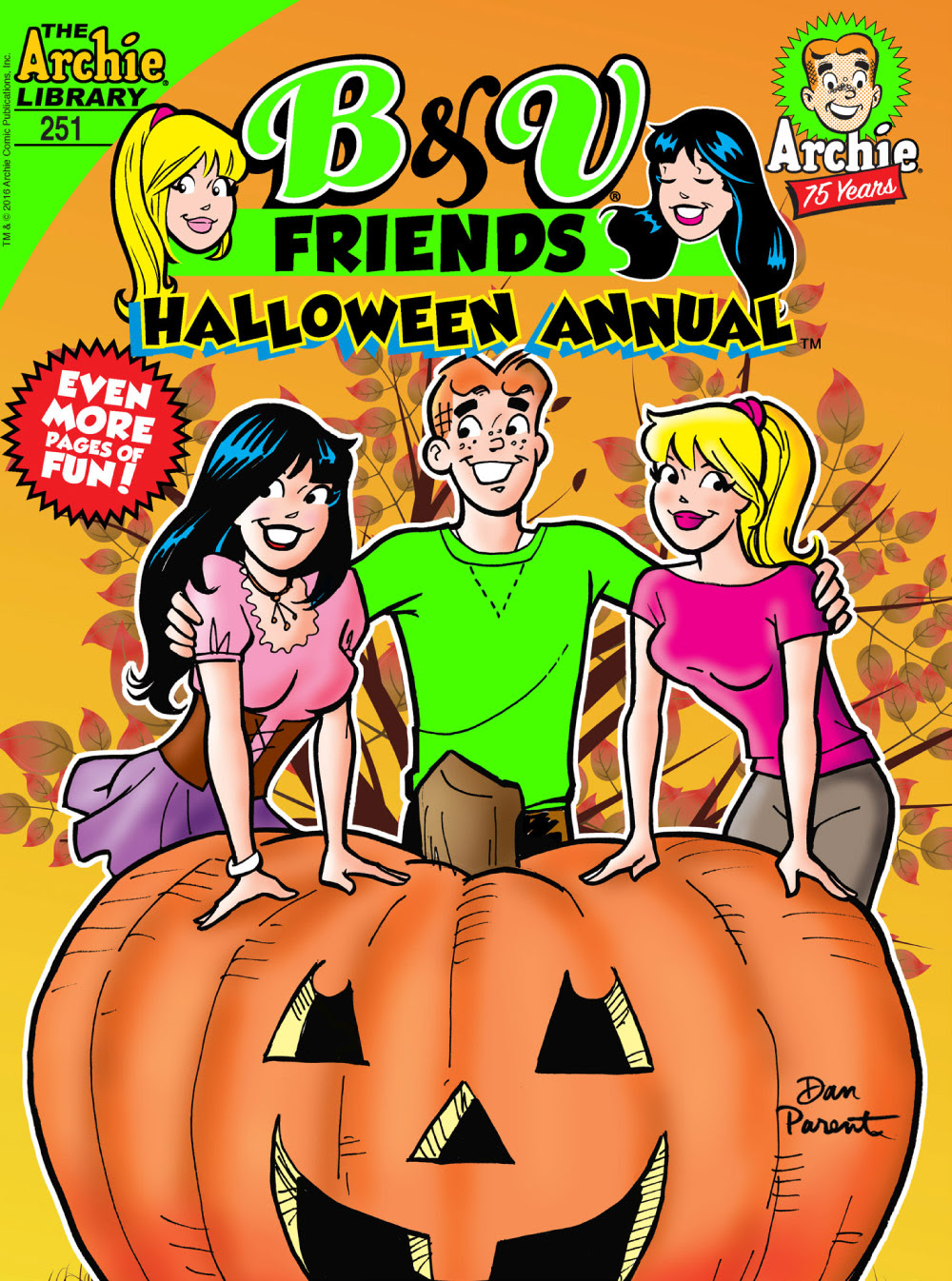 B&V Friends Halloween Annual 251 Cover
