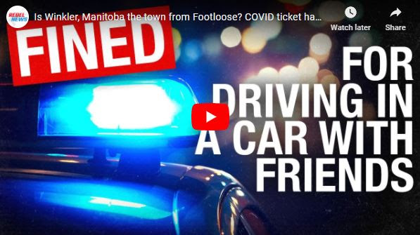 Is Winkler, Manitoba the town from Footloose? COVID ticket handed  down for driving with friends