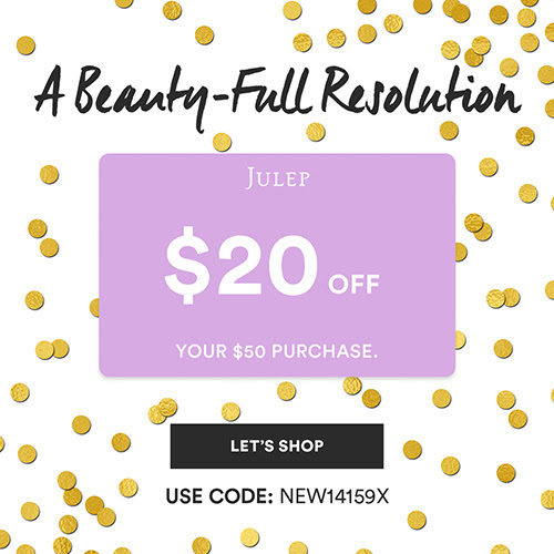 New Julep Offer: $20 off any $...