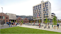 Western Norway University of Applied Sciences, Campus Bergen. Photo: Mauricio Pavez